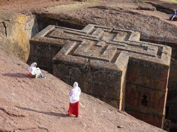 Kirche des Hl. Georg, Lalibela, Äthiopien