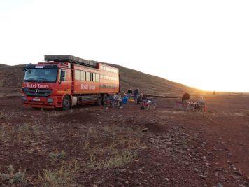 Übernachtung in freier Natur, Sudan