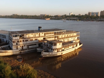 Blauer Nil, Sudan