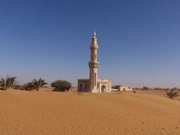 Moschee in der Wüste, Sudan