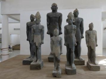 Schwarze Pharaonen, Museum in Kerma, Sudan