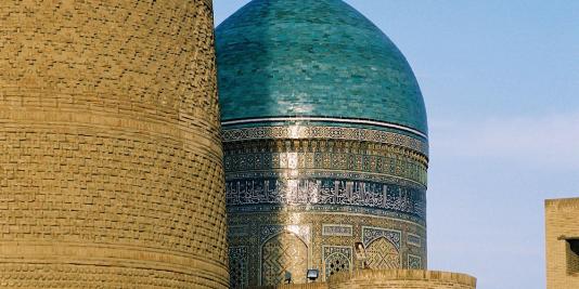 minaret and medrassa